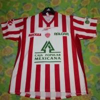Jersey Deportivo Necaxa sponsor MEXICANA CORONA meksiko mexico remini