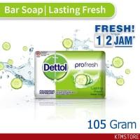 Sabun Mandi Dettol sabun Batang lasting fresh 105 gr bar soap