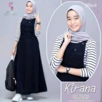 Kirana set baju gamis pakaian wanita dress fashion muslim