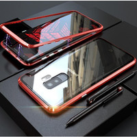 Case Samsung Galaxy S8 / S8+ / S9 / S9+ Case Magnetic Adsorpsi Metal F