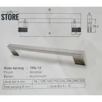 Handle Huben TPA-12 (96 mm) Tarikan Laci Lemari Kitchen Kabinet