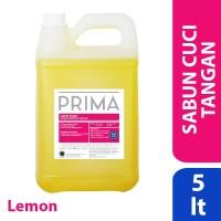 PRIMA Lemon Handsoap (Sabun Cuci Tangan) 5L