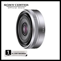Sony E 16Mm F/2.8 Pancake Aps-C E-Mount Camera Lens / Lensa Sel16F28