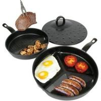 Baru Divide Wonder Pan Set / 3 pans in 1 Termurah