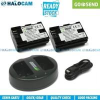 Wasabi Power PAKET 2 Battery + Charger for LP-E6 (6D 7D 60D 70D 80D)