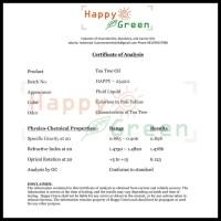 Happy Green Tea Tree Essential Oil - Minyak Tea Tree Murni Natural