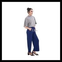 Kulot Milano Crepe Panjang Celana Panjang Wanita Jumbo Big Size Cewek