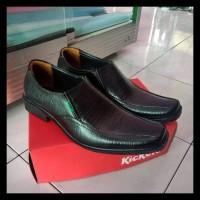 Sepatu pantofel fantofel pantopel pria asli kulit - Hitam, 39 DISKON