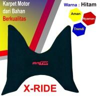 Karpet Motor YAMAHA X-RIDE - Hitam