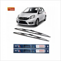 Grosir Wiper Mobil Sepasang 2pcs Bosch Advantage Honda Brio Satya Ukur