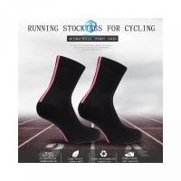 Socks Socks Color -StockSplicing Mesh Length Calf misseceBicycle Ridin