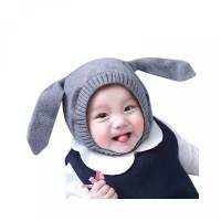 Kartun Rajut Bahan Kupluk Bayi untuk Desain Topi Telinga