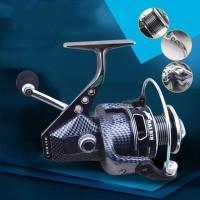 Spinning Reel Metal 5.5: 1 Untuk Memancing Di Laut