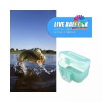 Fishing Earthworm Live Waist Buckle Carry Storage Box Case Bait Lure w