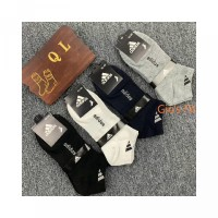 Mode Socks Dangkal Pria Kapal Socks bernapas Sederhana pendek Socks