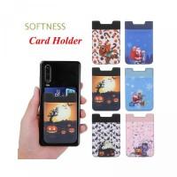 Card Lycra Adhesive Fashion Holder Universal SOFTNESS Elastic Sticker