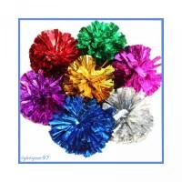 untuk Foil Plastik Pesta Metalik Bola Dekorasi 50g Warna