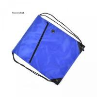 Camping Casual Gym Drawstring Bag Waterproof Lightweight Bag Solid Bac