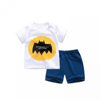 T-Shirt Kaos Casual Bayi Panas Gambar Celana Kartun Pendek Setelan unt