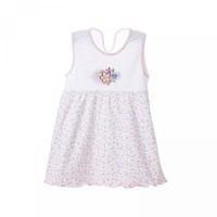 Musim Print Motif Get 1 Mini Buy Panas Bunga A-Line Lengan Free Dress