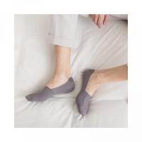 Pria Musim Gugur Kaos untuk Tipis Silikon Ankle Ultra Bahan Polos Slip