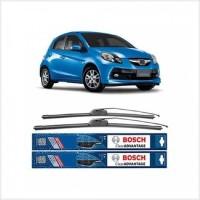 Stok Baru Bosch Wiper Clear Advantage Honda Brio Satya 22 & 16 Full Ka