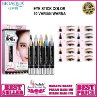 BIOAQUA - Brightest Lying Silkworm eye stick / Make Up Mata 08