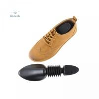 Warna Bahan Adjustable Hitam Portable Plastik Stretcher Shoe