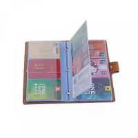 dompet pendek unisex gaya kartu jepang korea selatan holder