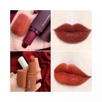 5Pcs Velvet Make Up Mousse Lipstick