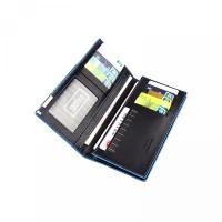 Slim Simple tophone Long Card Male Leather Portable Hot Fashion PU Hol