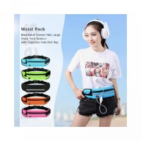 Hole with Bag Breathable Women Earphone Men Belt Outdoor Rieccy.id Pa