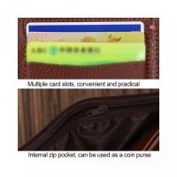 Pria Slot Lipat Bahan Pria Men s Pendek Mini Fashion Dompet Short PU S