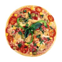 Panci Bulat Anti Lengket untuk Pizza / Pie