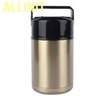 Allinit 1000ml Stainless Steel Vacuum Lunch Box Smoldering Mug