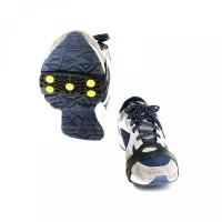 Stud Sepatu Crampon 5 Es Anti 1 Salju Slip Pasang untuk