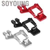 Soyoung 4Pcs Plat Penyerap Guncangan Bahan Aluminium Alloy untuk