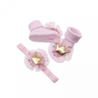 Kaki skic Kaos Fotografi Aksen Set Properti Bayi Katun Newborn Renda M