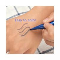 Alis Sulam Tatto untuk Spidol Pena Penghapus Penggaris MTSet Microblad
