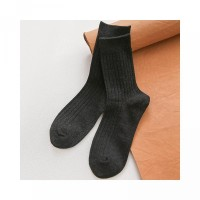 Sock Men Crew Solid Sock New Unisex Male For Formal Color Cotton Busin