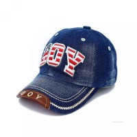 untuk Topi skic Laki-Laki Baseball Bordir Motif Denim
