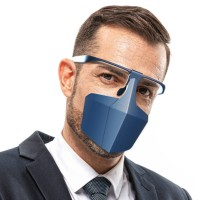 Mouth cover Reusable Dustproof Anti-Saliva Isolation Face Shield
