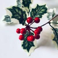 Acew 2m Lampu Natal / Kabel 20 LED Warna Merah untuk Dekorasi Pohon