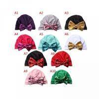 Lucu Pita Lembut Bayi Laki-Laki untuk Turban 1Pc Perempuan Topi Simpul