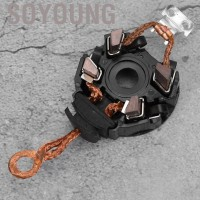 Soyoung Aramox Starter Motor Brush Car Carbon Holder Assembly Fit