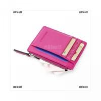 leat card rtnnWallet business ID credit clip mens holder slim Faux mon