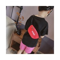 Clutch Mini Kulit Girl Fashion Warna Kids Tas Bahu Bahan Pinggang Boy