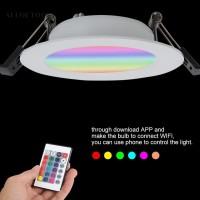 Lampu Sorot Downlight LED 85-265V Warna Warm White Dingin