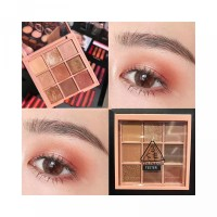 Di 3ce Up Tempat Make Warna Eyeshadow 9 Yayasan Pearlescent Palet Baya