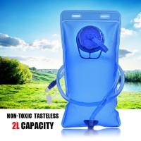 2L Lipat Luar Lembut Saku Air Bag Hike Menjalankan Hydration Pack